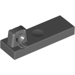 Dark Bluish Gray Hinge Tile 1 x 3 Locking with 1 Finger on Top - used