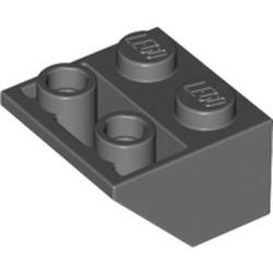 Dark Bluish Gray Slope, Inverted 45 2 x 2 - new