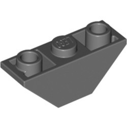 Dark Bluish Gray Slope, Inverted 45 3 x 1 Double - used