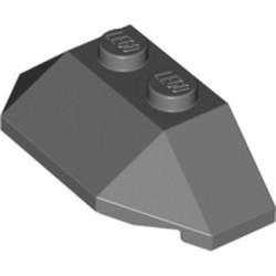 Dark Bluish Gray Wedge 2 x 4 Triple - used