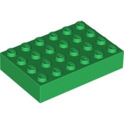 Green Brick 4 x 6 - used