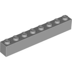 Light Bluish Gray Brick 1 x 8 - used