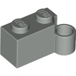 Light Gray Hinge Brick 1 x 4 Swivel Base - used