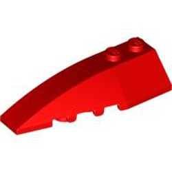 Red Wedge 6 x 2 Left - new