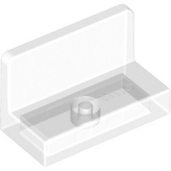 Trans-Clear Panel 1 x 2 x 1 with Rounded Corners - new