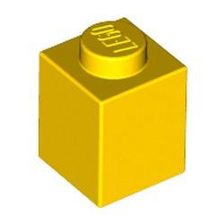 Yellow Brick 1 x 1 - used