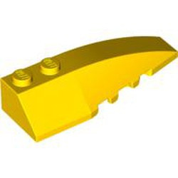 Yellow Wedge 6 x 2 Right - used