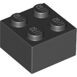 Black Brick 2 x 2