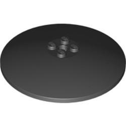 Black Dish 8 x 8 Inverted (Radar) - Solid Studs - new