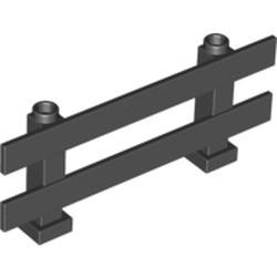 Black Fence 1 x 8 x 2 2/3 - used