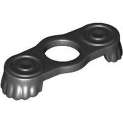 Black Minifigure Epaulettes