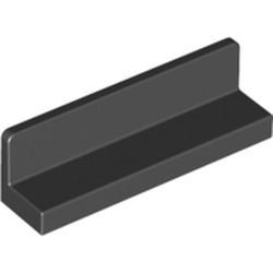 Black Panel 1 x 4 x 1