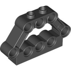 Black Technic, Pin Connector Block 1 x 5 x 3 - new