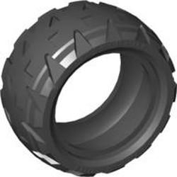 Black Tire 43.2 x 22 H