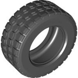 Black Tire 94.3 x 38 R