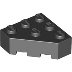 Black Wedge 3 x 3 Facet - used