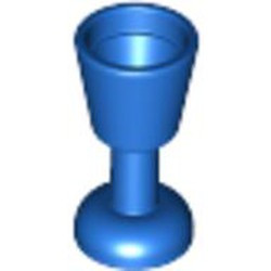 Blue Minifigure, Utensil Goblet - used