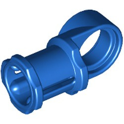 Blue Technic, Axle and Pin Connector Toggle Joint Smooth - used