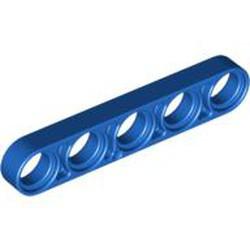 Blue Technic, Liftarm 1 x 5 Thin - used