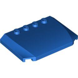 Blue Wedge 4 x 6 x 2/3 Triple Curved