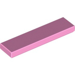 Bright Pink Tile 1 x 4 - used