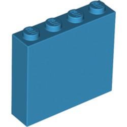 Dark Azure Brick 1 x 4 x 3 - new