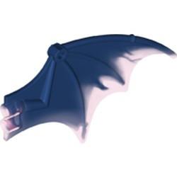 Dark Blue Dragon Wing 13 x 8 with Trans-Dark Pink Trailing Edge Pattern