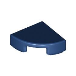 Dark Blue Tile, Round 1 x 1 Quarter - new