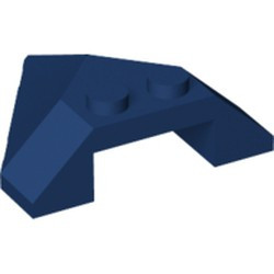 Dark Blue Wedge 4 x 4 Pointed - used
