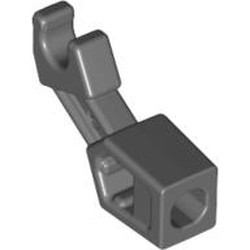 Dark Bluish Gray Arm Mechanical, Exo-Force / Bionicle, Thick Support