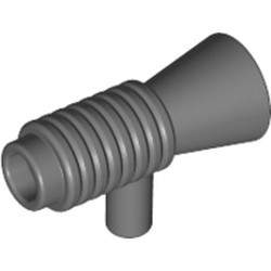 Dark Bluish Gray Minifigure, Utensil Loudhailer / Megaphone / SW Blaster - new