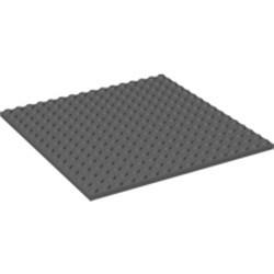 Dark Bluish Gray Plate 16 x 16