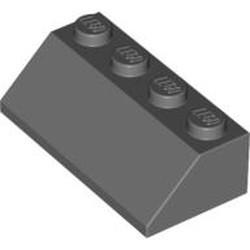 Dark Bluish Gray Slope 45 2 x 4 - used