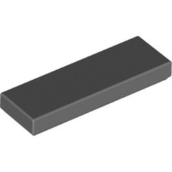 Dark Bluish Gray Tile 1 x 3 - new