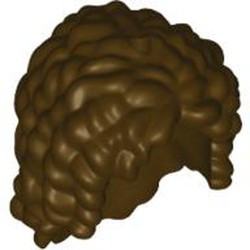 Dark Brown Mini Doll, Hair Friends Long with Curls - used