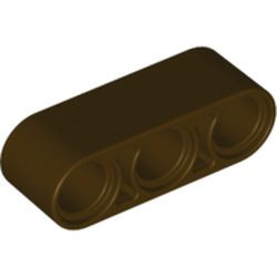 Dark Brown Technic, Liftarm Thick 1 x 3