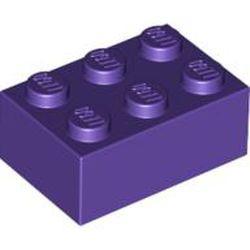 Dark Purple Brick 2 x 3