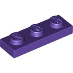 Dark Purple Plate 1 x 3 - used
