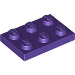 Dark Purple Plate 2 x 3 - used