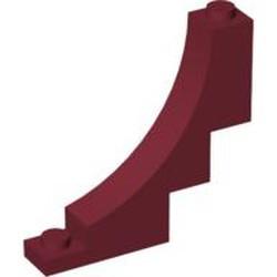 Dark Red Arch 1 x 5 x 4 Inverted