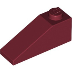 Dark Red Slope 33 3 x 1 - used