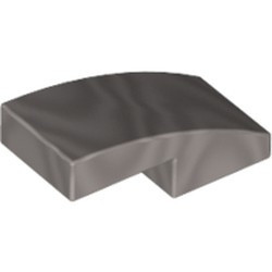 Flat Silver Slope, Curved 2 x 1