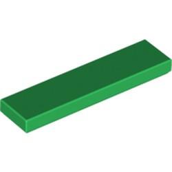 Green Tile 1 x 4 - new