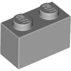Light Bluish Gray Brick 1 x 2
