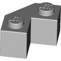 Light Bluish Gray Brick, Modified Facet 2 x 2 - used