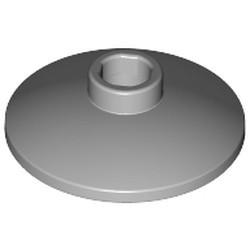 Light Bluish Gray Dish 2 x 2 Inverted (Radar) - new