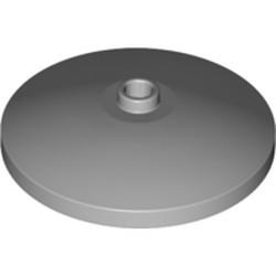 Light Bluish Gray Dish 4 x 4 Inverted (Radar) with Open Stud - new