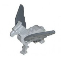 Light Bluish Gray Hippogriff, Harry Potter (Buckbeak) - used