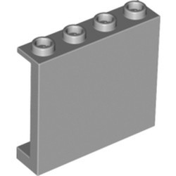 Light Bluish Gray Panel 1 x 4 x 3 with Side Supports - Hollow Studs - new