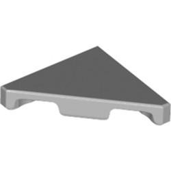 Light Bluish Gray Tile, Modified 2 x 2 Triangular